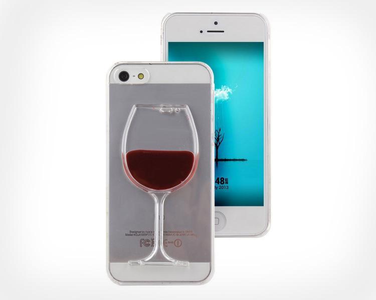 Liquid glass iphone case